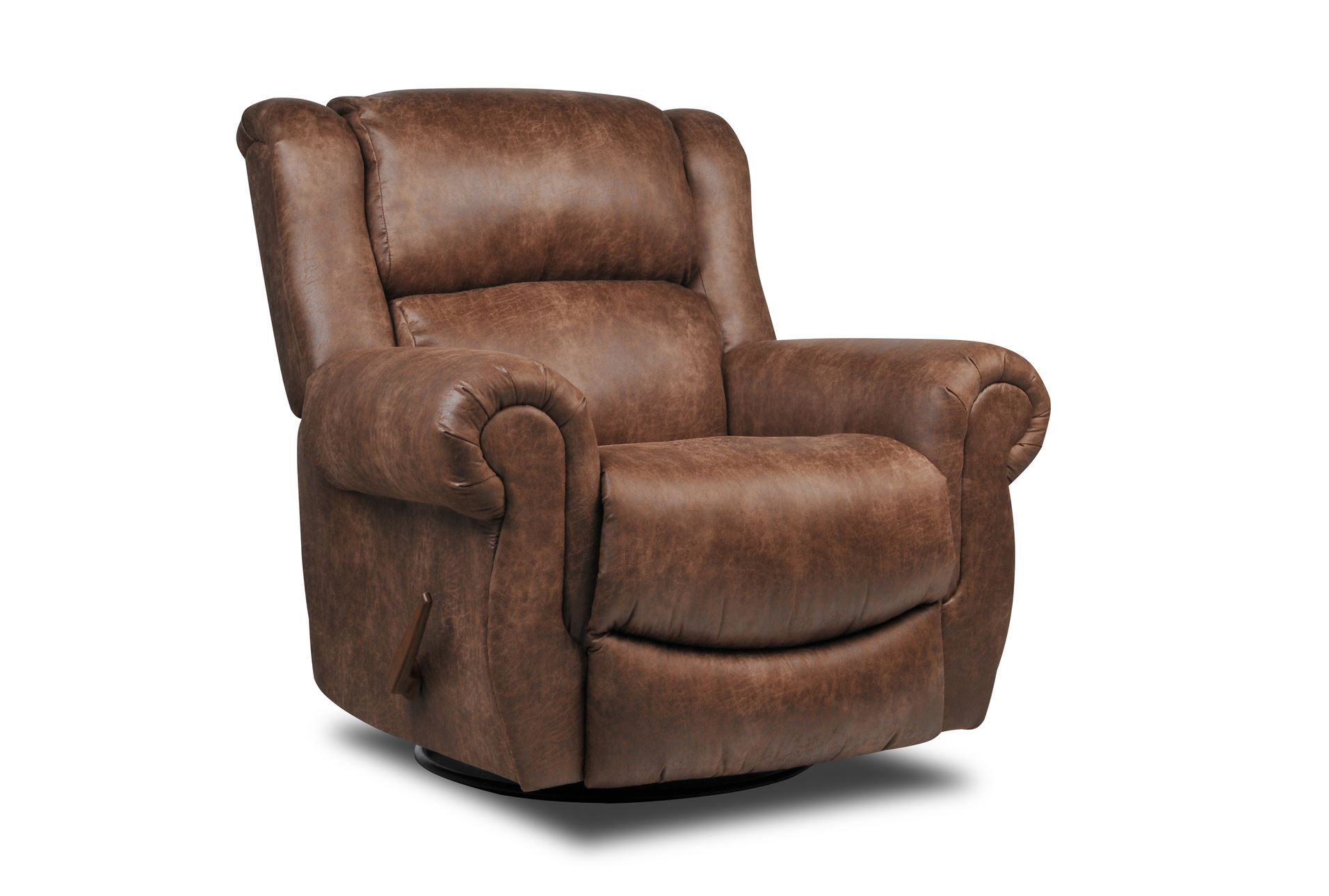 Living Spaces Recliners : Christopher Swivel Rocker Recliner - Living Spaces