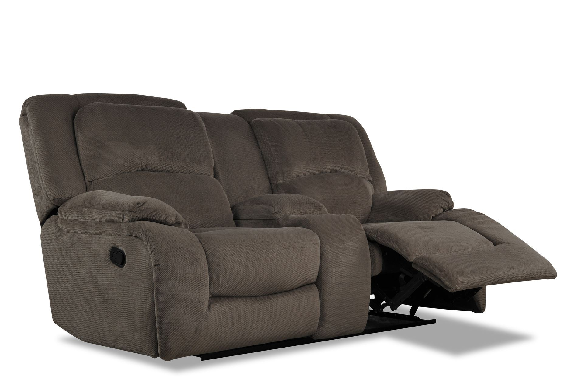 Claudius Reclining Loveseat W Console Living Spaces