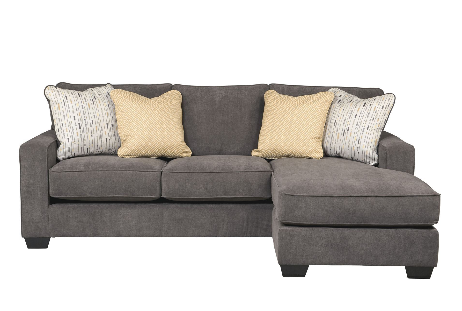 Hodan sofa chaise living spaces for Living spaces couches