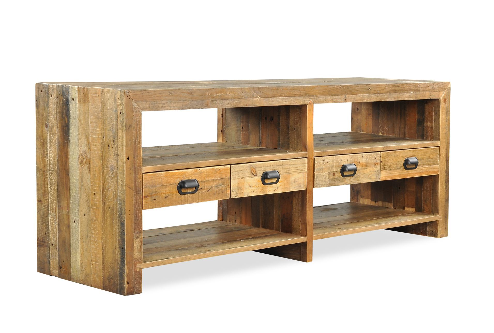 Tahoe ii 70 inch tv console living spaces for 70 inch console table