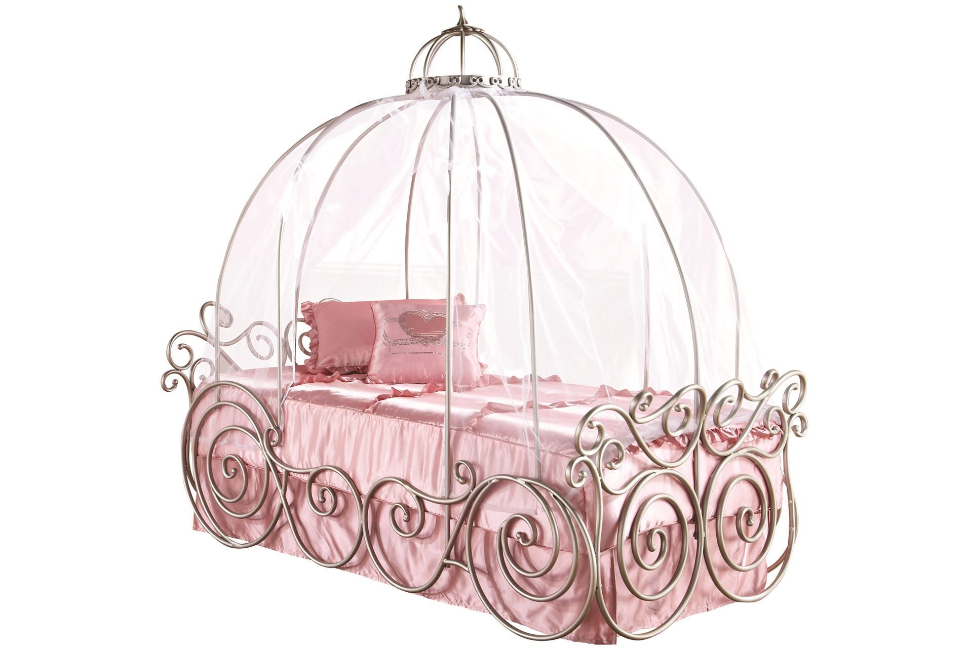 Disney Princess Twin Carriage Bed - Living Spaces
