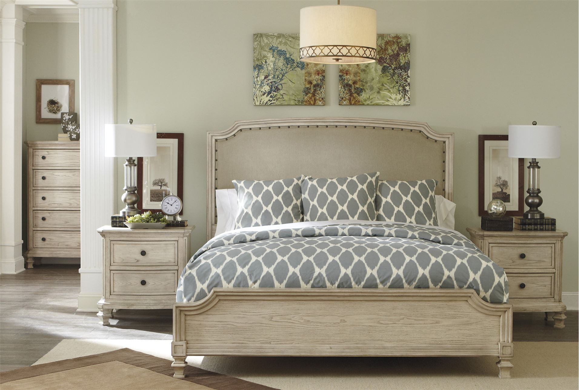 Demarlos queen panel bed living spaces for Living spaces couches