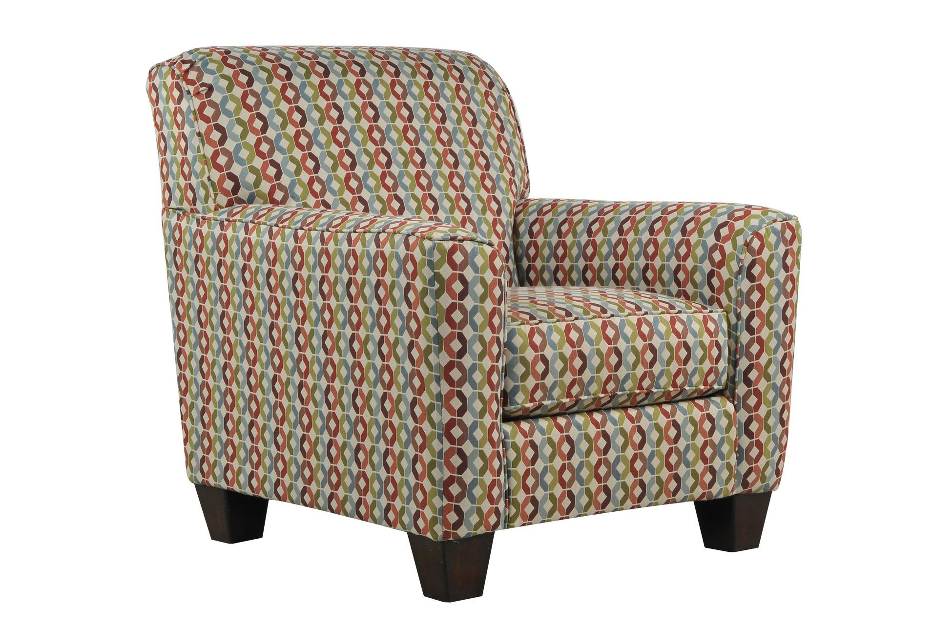 Living Spaces Accent Chairs : Hannin Spice Accent Chair - Living Spaces