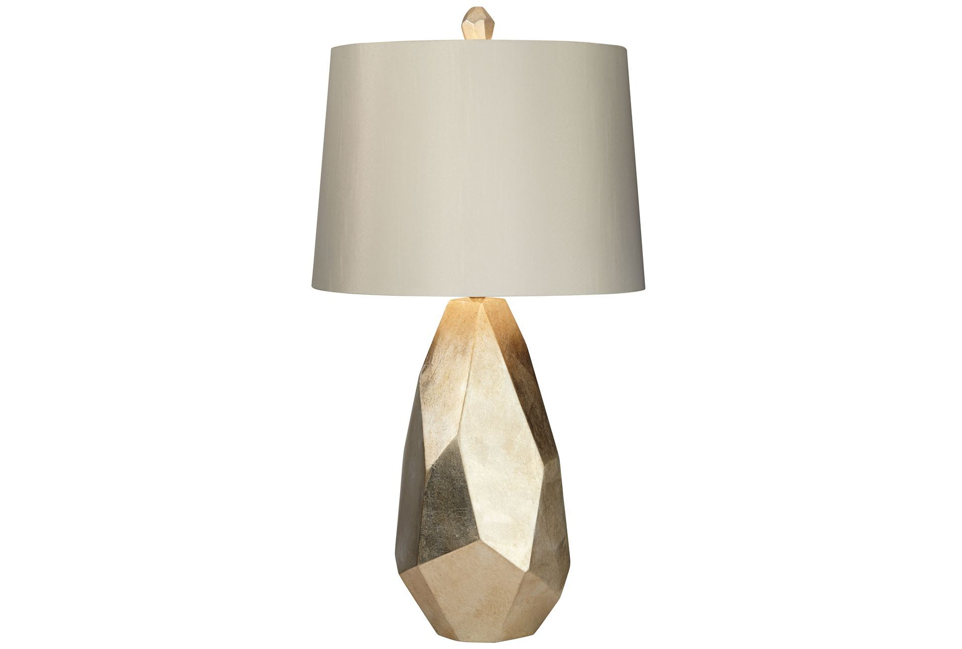 Table Lamp Faceted Gold