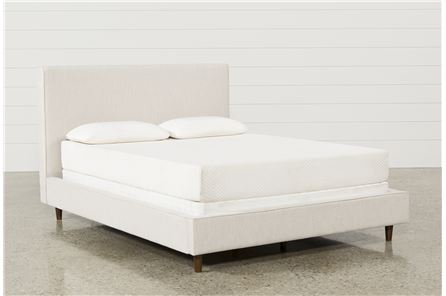 Display product reviews for KIT-DEAN SAND FULL UPHOLSTERED PANEL BED