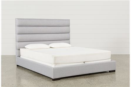 Display product reviews for KIT-HUDSON QUEEN UPHOLSTERED PLATFORM BED