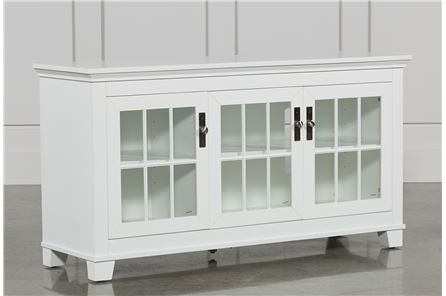 Display product reviews for HAMDEN WHITE 62 INCH TV CONSOLE