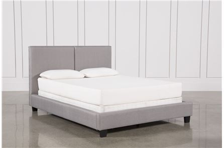 Display product reviews for KIT-RYLEE QUEEN UPHOLSTERED PANEL BED