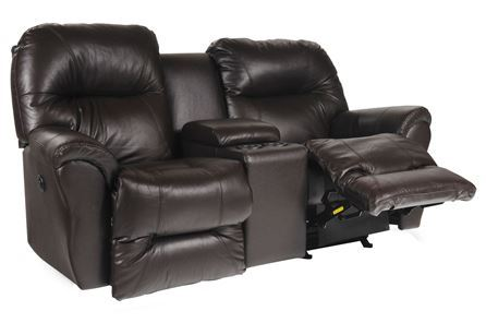 Display product reviews for BODIE LEATHER POWER ROCKER RECLINING LOVESEAT W/CONSOLE