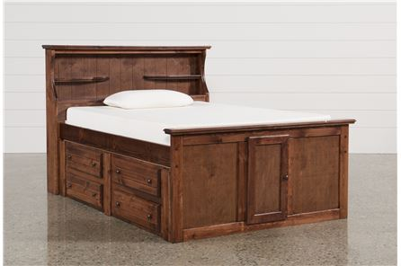 Display product reviews for KIT-SEDONA FULL BOOKCASE BED W/SINGLE 4-DRW CAPTAINS UNIT