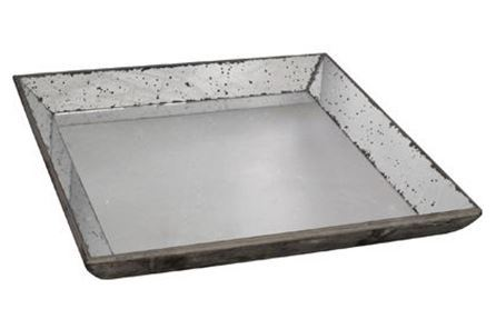 Display product reviews for WEATHERED MIRROR TRAY LARGE