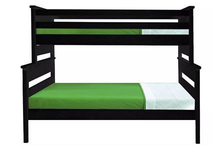 Display product reviews for KIT-LAGUNA BLACK TWIN/FULL BUNK BED