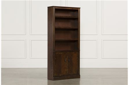Display product reviews for HAMLYN LARGE DOOR BOOKCASE