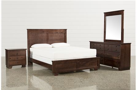 KIT-MARCO QUEEN 4 PIECE BEDROOM SET