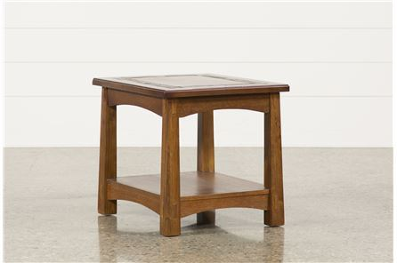 Display product reviews for BROOKS END TABLE