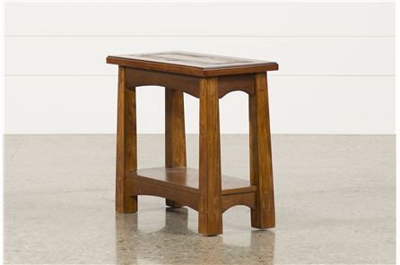 Display product reviews for BROOKS CHAIRSIDE TABLE