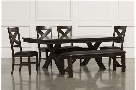 Display product reviews for KIT-PELENNOR 6 PIECE EXTENSION DINING SET