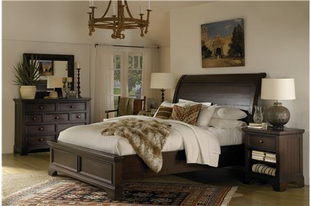 KIT-LOXTON QUEEN SLEIGH BED
