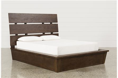 KIT-LIVINGSTON EASTERN KING PANEL BED