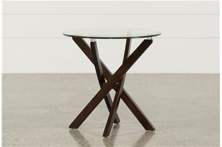 Display product reviews for KIT-BRISBANE ROUND END TABLE