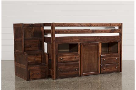 Display product reviews for KIT-SEDONA JUNIOR LOFT STORAGE BED W/JUNIOR STAIR CHEST