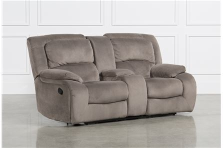 Display product reviews for CLAUDIUS RECLINING LOVESEAT W/CONSOLE
