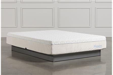 Shop queen mattress queen size mattresses sale living for Living spaces mattress reviews