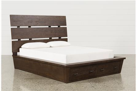 Display product reviews for KIT-LIVINGSTON QUEEN STORAGE BED