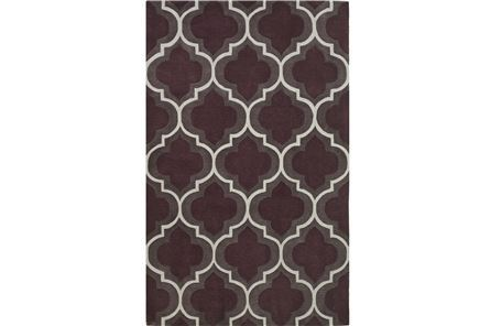 Display product reviews for 96X120 RUG-LORNA PLUM PANEL