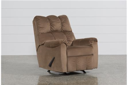 Display product reviews for RAULO MOCHA ROCKER RECLINER