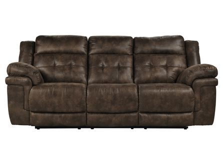 Display product reviews for CARVER RECLINING SOFA