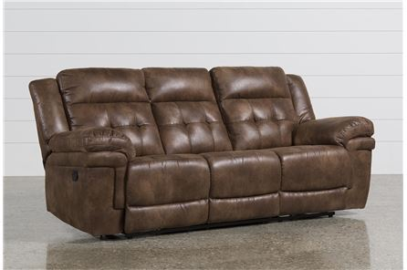 Display product reviews for CARVER POWER RECLINING SOFA