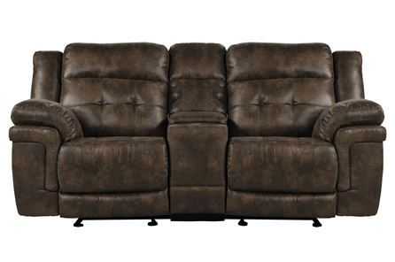 Display product reviews for CARVER POWER RECLINING LOVESEAT W/CONSOLE