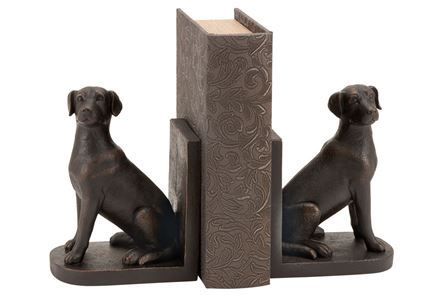 Display product reviews for 2 PIECE SET DOG BOOKEND