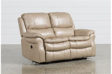 Display product reviews for SALINGER SAND POWER DUAL RECLINING LOVESEAT