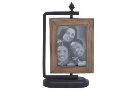 Display product reviews for 4X6 METAL & WOOD FRAME
