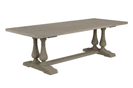 Display product reviews for KIT-SOLEIL TRESTLE DINING TABLE