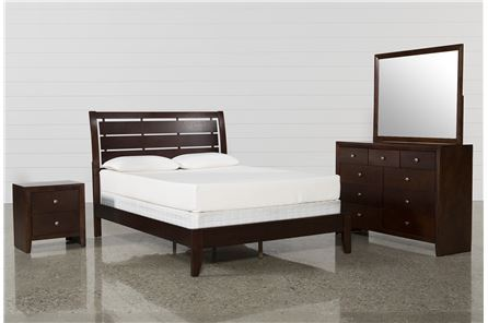 Display product reviews for KIT-CHAD QUEEN 4 PIECE BEDROOM SET