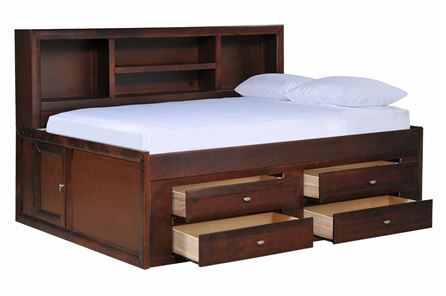 Display product reviews for KIT-VARSITY CHERRY FULL ROOMSAVER BED W/4-DRW CAPTAINS UNIT