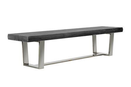 Display product reviews for KIT-BATEAU GREY BENCH