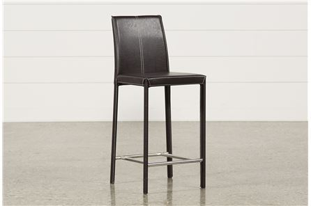 Display product reviews for RENATA 24 INCH BROWN BARSTOOL