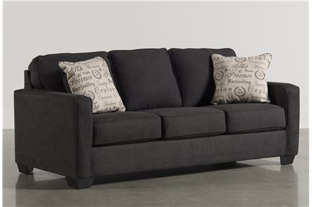 Display product reviews for ALENYA CHARCOAL SOFA