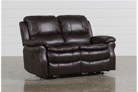 Display product reviews for SALINGER NUTMEG POWER DUAL RECLINING LOVESEAT