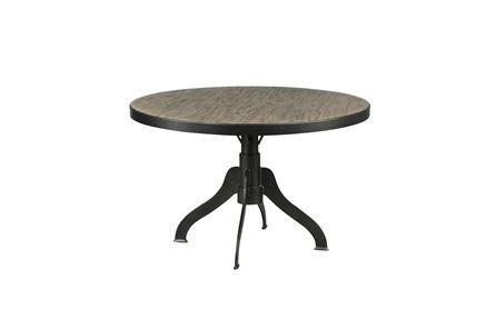 Display product reviews for COOPER TOP ROUND DINING TABLE