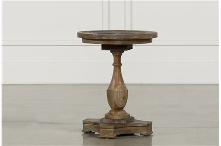 HARRISON ROUND END TABLE