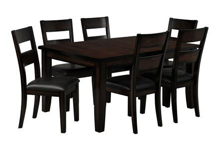 Display product reviews for KIT-ROCCO 7 PIECE EXTENSION DINING SET