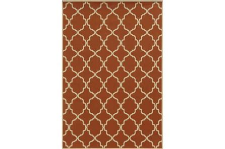Display product reviews for 94X130 OUTDOOR RUG-MONTAUK RUST