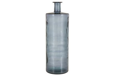 Display product reviews for 30 INCH BLUE GLASS VASE