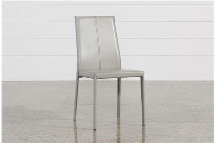 Display product reviews for RENATA GREY SIDE CHAIR