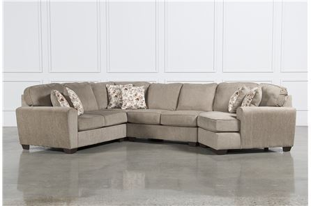 Display product reviews for KIT-PATOLA PARK 4 PIECE SECTIONAL W/RAF CUDDLER